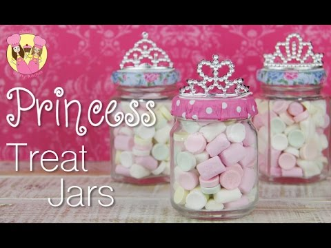 Princess Party Treat Jars Sleeping Beauty Or Cinderella