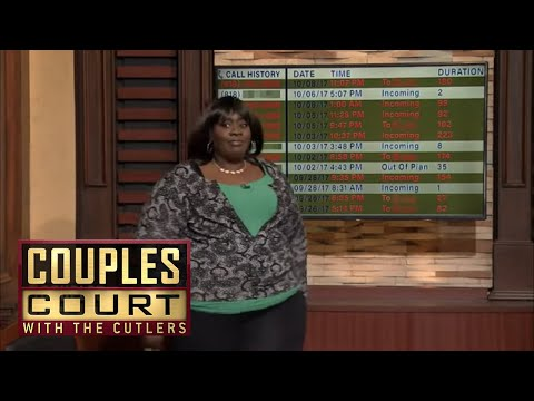 Let Me See Your Call Log! Phone Records Indicate Cheating   Couples Court