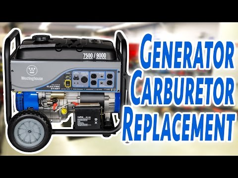 How To Replace A Generator Carburetor