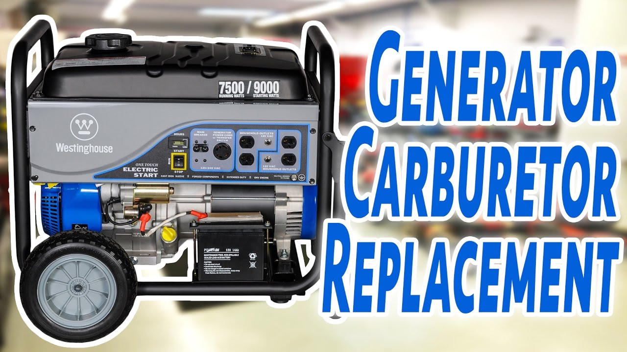 small resolution of how to replace a generator carburetor