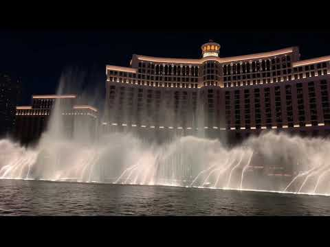Bad Romance – Lady Gaga Bellagio Fountain Premiere 2/25/2019
