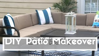 DIY Affordable Patio Makeover | Extreme Patio Makeover on A Budget