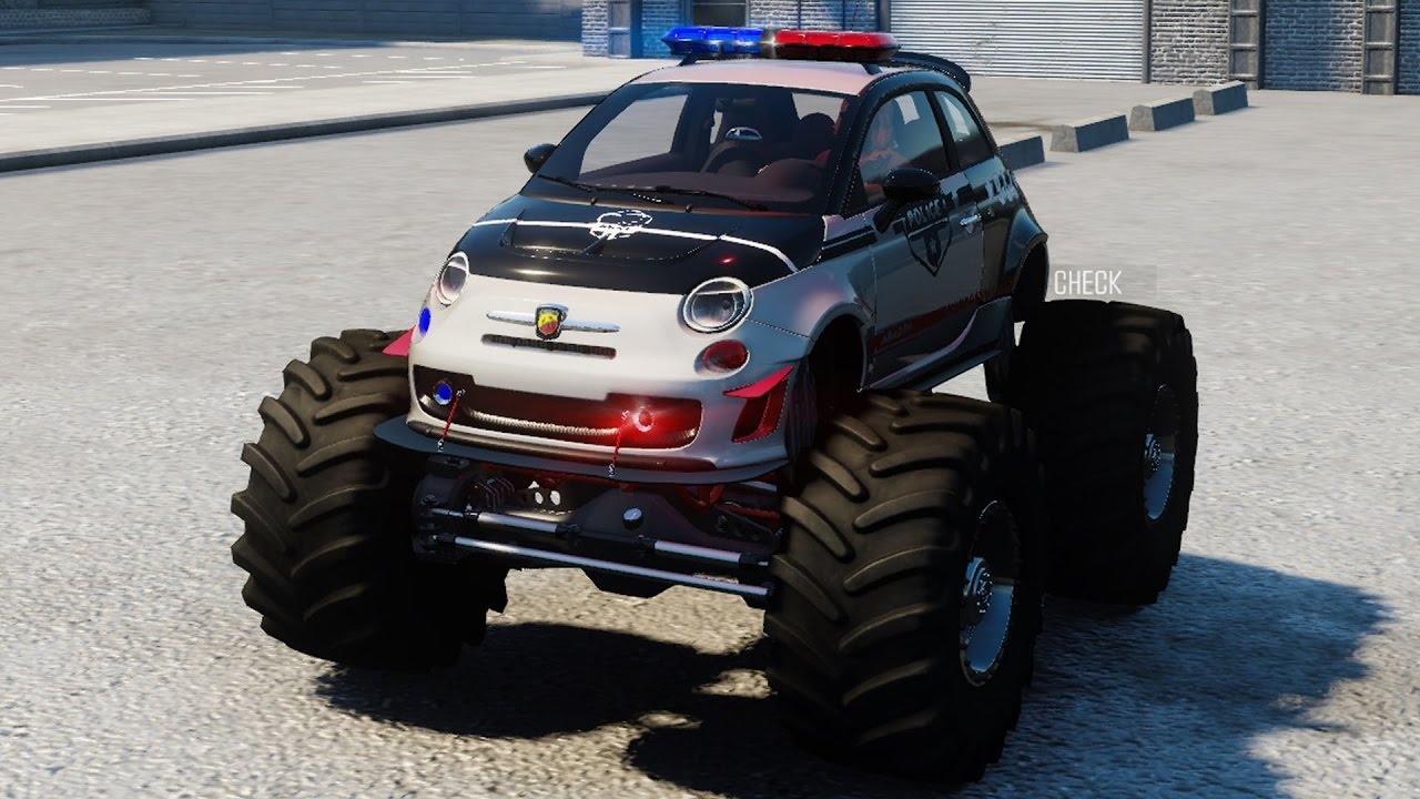 Abarth Monster Truck Police Car The Crew Calling All