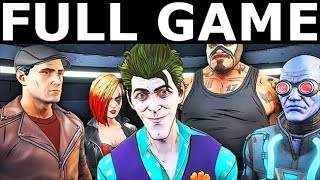 BATMAN Telltale Season 2 The Enemy Within - Full Game Walkthrough Gameplay & Ending (No Commentary)