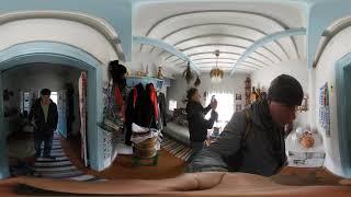 Музей  Саенко AndquotСельское подворьеandquot. Часть 2.  Панорамная экскурсия 360 градусов.