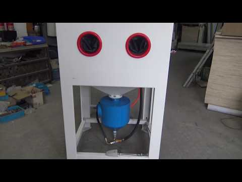 High Pressure Sandblast Cabinet For Sale