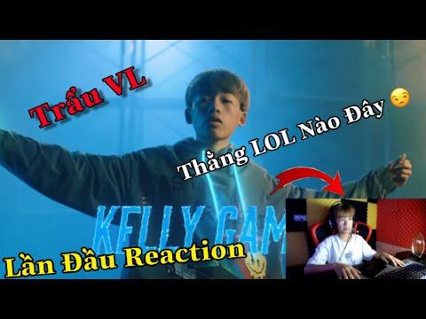 Cảm Xúc Khi Kelly Lần Đầu Reaction || MV RAP FREE FIRE ĐẠI CHIẾN RAP BATTLE  | KELLY GAMING TV
