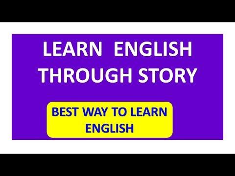 spoken english through stories ||| speak english || learn english through story