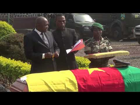 Cameroon's soldier Killed in Kembong is Given Last Respect