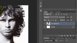 Efecto Stencil Photoshop by Yanko0