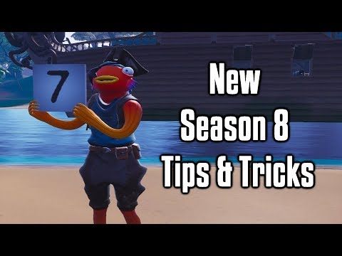 Seven New Tips and Tricks To Master Season 8! - Fortnite Battle Royale