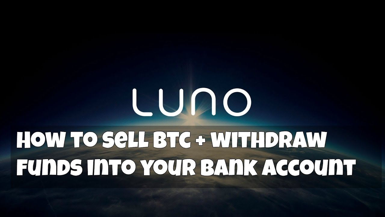 how to sell bitcoin to bank account