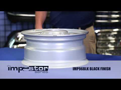 Installation of the IMP96BLK - Wheel Skin for the Ford Super Duty
