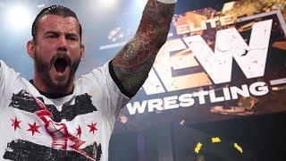 How AEW Should Debut CM Punk