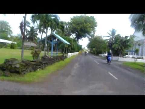 Scooter tour - Rarotonga, Cook Islands
