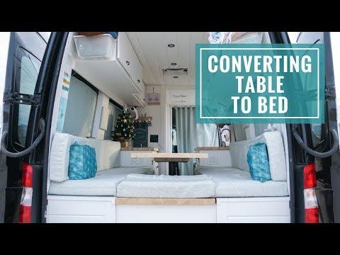 Van Bed Ideas: Sprinter Van Bed Conversion