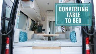 Van Bed Ideas Sprinter Conversion