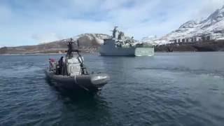 Frømandskorpset RHIB ved Grønland