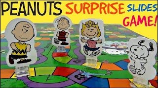 The Peanuts Movie Snoopy Surprise Slides Board Game with Charlie Brown, Sally / TUYC |Toys review