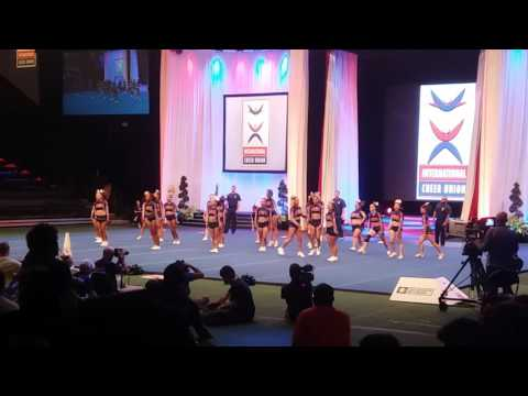 Team Costa Rica  All Girl Elite - Cheerleading 2016
