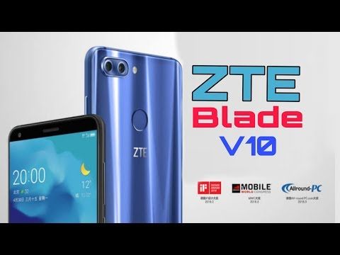 ZTE Blade V10 - 2019 Full Specifications, Price, Release Date, Features, Review || (Duel Cameras)