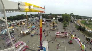 GoPro Video of Indiana State Fair Midway - Speed/Mach3