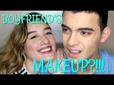 I Do My Boyfriend's Makeup?!! | Natasha Ryder
