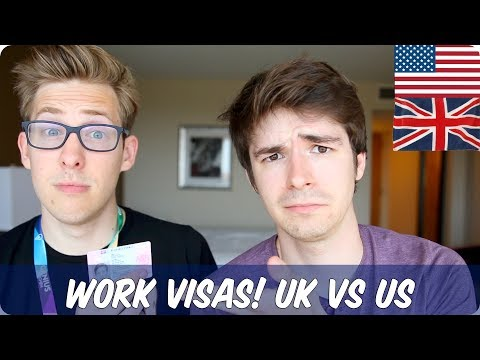 Work Visas | British VS American | Evan Edinger & TimH