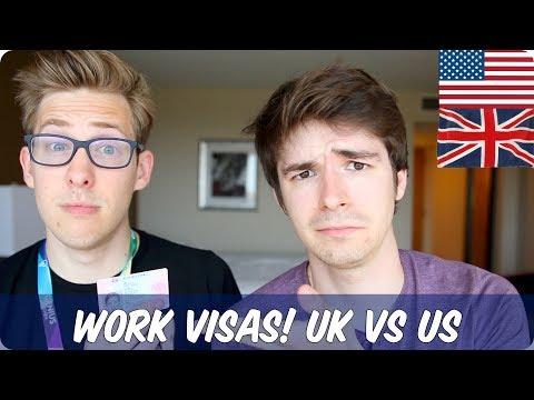 Work Visas | British VS American | Evan Edinger & TimH