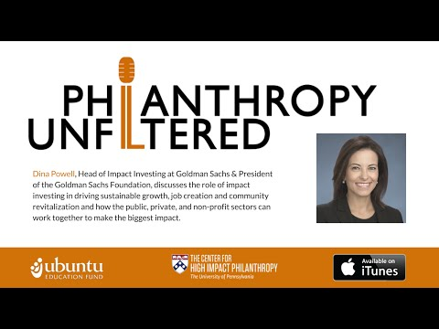 Philanthropy Unfiltered: Dina Powell