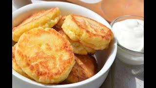 Творожные сырники - самый простой рецепт вкусных сырников за 5 минут.