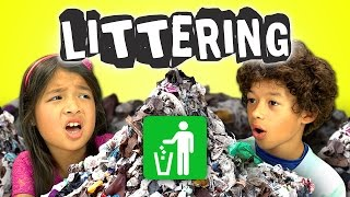Kids React to Motorcycle Girl Against Littering thumbnail