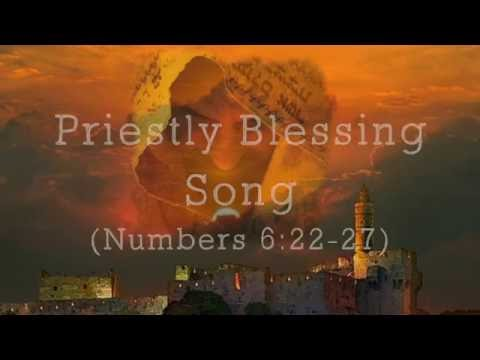 Priestly Blessing Song (Lyric Video) | Lize Hadassah Wiid | The Sound Of The Bridegroom