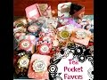 Craft Fair Idea #7:  Tea Pocket Favors 2015