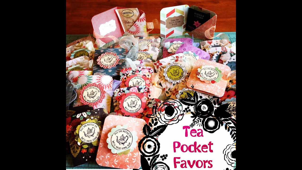 Christmas Craft Fair Ideas To Make Part - 18: Easy Christmas Craft Show Ideas : Craft Fair Idea Tea Pocket Favors