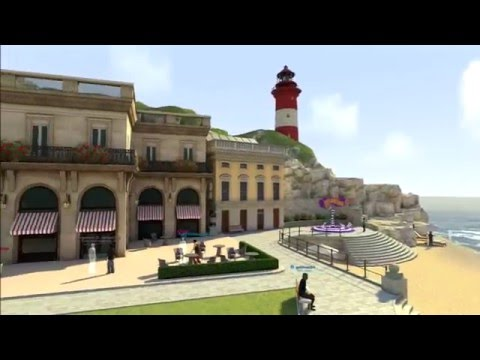 Playstation Home: Europe Home Square