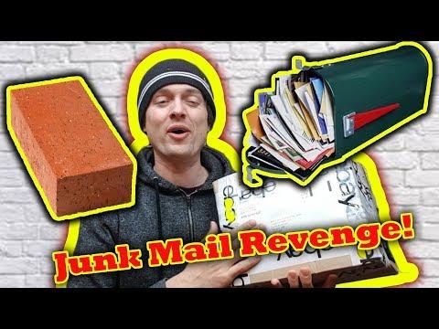 Sending Junk to Junk Mail Companies ... LOL