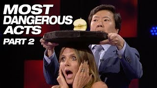 These Talents Are Crazy And Dangerous - America's Got Talent 2018