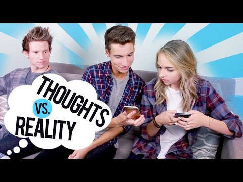 THOUGHTS VS REALITY