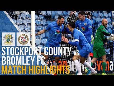 Stockport Bromley Goals And Highlights
