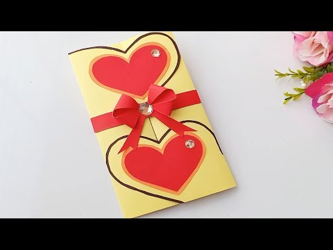 Valentine's Day Card Idea / Handmade easy card Tutorial