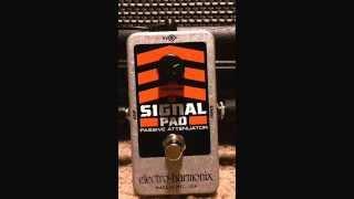 Electro-Harmonix Signal Pad Passive Attenuator Demo Sketch #3