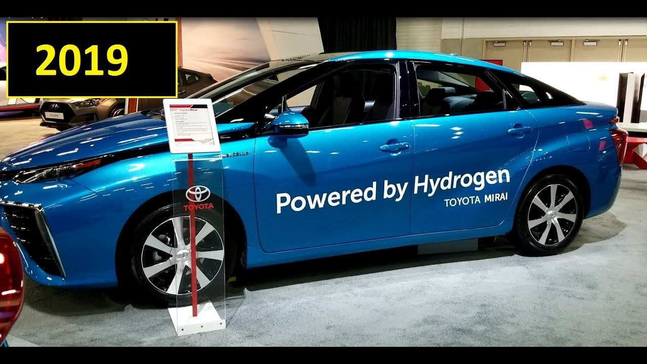 2019 Toyota Mirai Hydrogen Fuel Cell Car Review Of Features And Vehicle