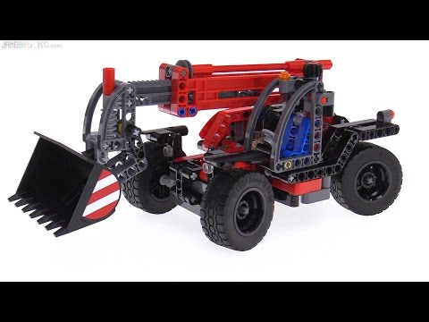 LEGO Technic 2017 Telehandler review! 42061