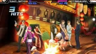 2D対戦格闘「カオスコード」(2011年夏稼働予定) ケット&シー (CV:西...