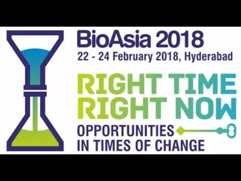 Bio -Asia -2018 International conference @ HICC    Day 2    KTR   LIVE