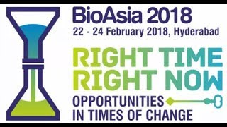 Bio -Asia -2018 International conference @ HICC || Day 2 || KTR | LIVE
