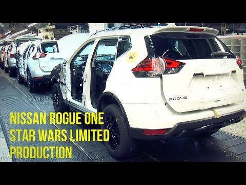 Nissan Rogue One Star Wars Limited Edition Production