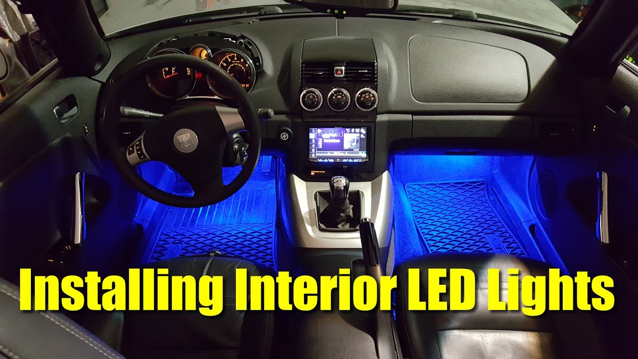 How To Install Interior LED Lights
