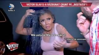 WOWBIZ (18.07.2017) - Victor Slav s-a razbunat pe Andreea! Mantea &quotma arde parul!&quot